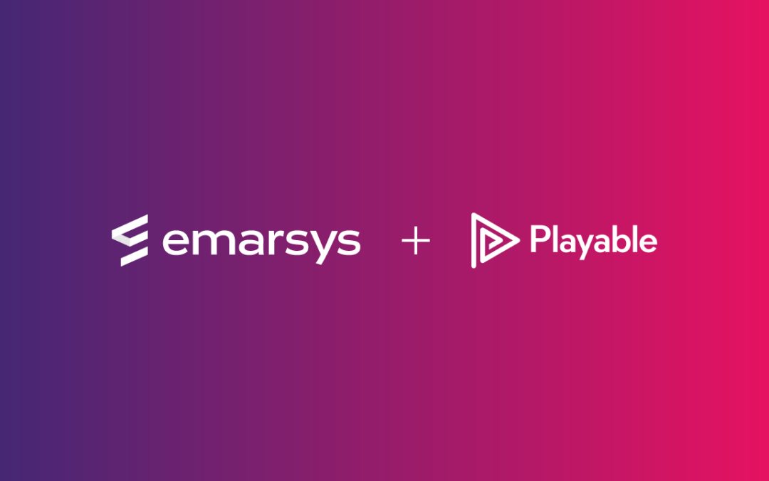 Playable announces global partnership with Emarsys
