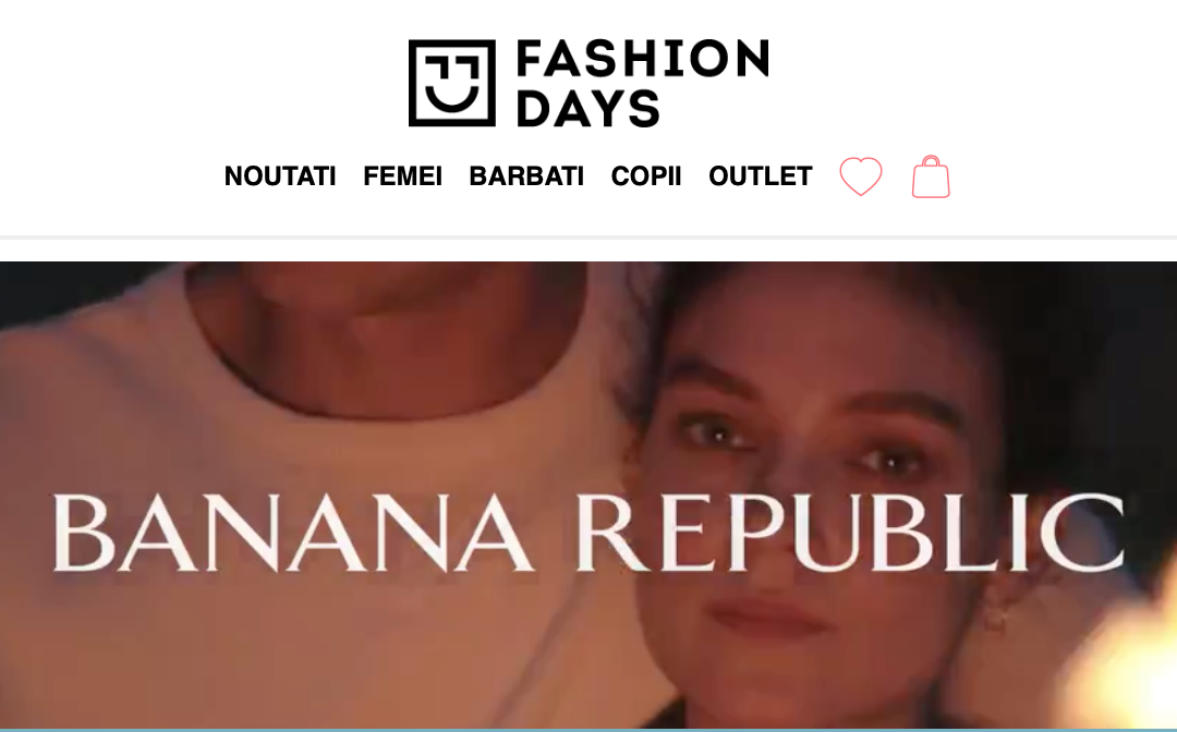 Video Email of the Month – FASHION DAYS – BANANA REPUBLIC Exclusive